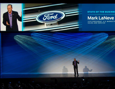 Mark LaNeve, Ford's vice president, U.S. Marketing, Sales and Service, talked about investing in...