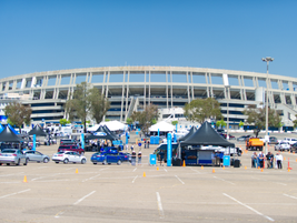 The Ride and Drive segment of this year's Ford fleet preview event was held at San Diego's...
