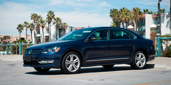 Volkswagen's Passat TDI provides impressive fuel economy and range as one of the only non-luxury...