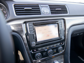 The 2016-MY Passat gets VW's second-generation infotainment system (MIB II), including Apple...