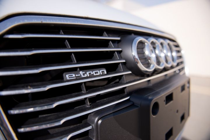 The A3 e-tron offers 120-volt and 240-volt charging capability.