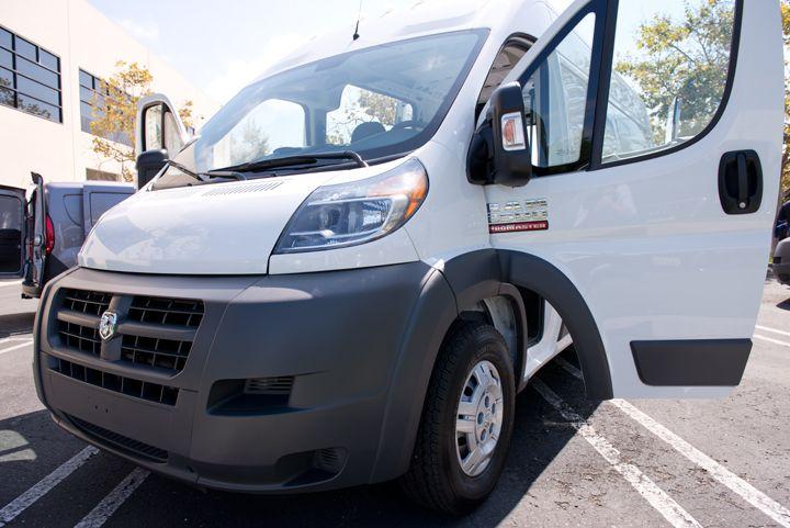 Fleets began using the ProMaster full-size van in October.
