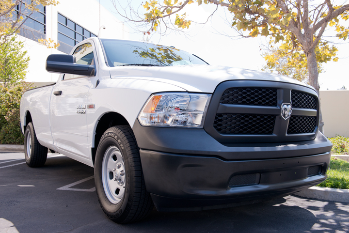 The Ram 1500 Tradesman with a regular cab could fit nicely into truck fleets with its $25,195...