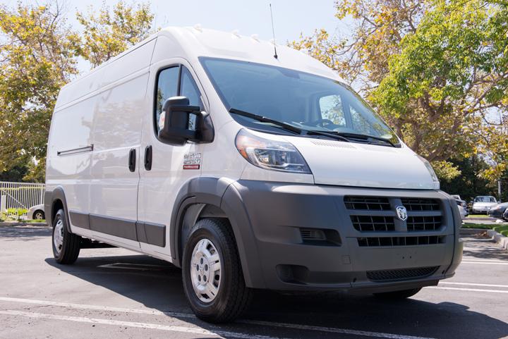 Ram's 2014 ProMaster Cargo Van