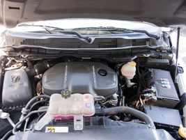 The 3.0-liter V-6 diesel engine is paired with an eight-speed automatic transmission.