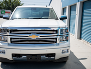 The 2014 Silverado offers a choice of three EcoTec3 engines. This model included the 5.3L V-8.