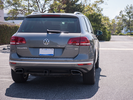 The Touareg Hybrid has been eliminated for the 2016 model year.