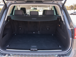 Rear cargo space comes in at 32.1 cubic feet and 64 cubic feet with the seats folded down.
