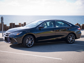 This Camry XSE is powered by a 3.5-liter V-6 mated to a six-speed transmission.