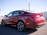 This 2015 Chrysler 200C includes AWD.