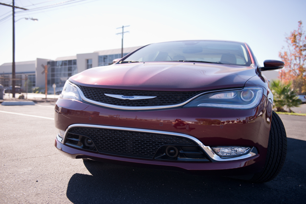 The restyled nose links the 200C to its Dart cousin. This model retails for $37,860.