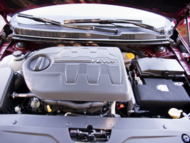 This 200C is powered by a 3.6-liter V-6 engine.