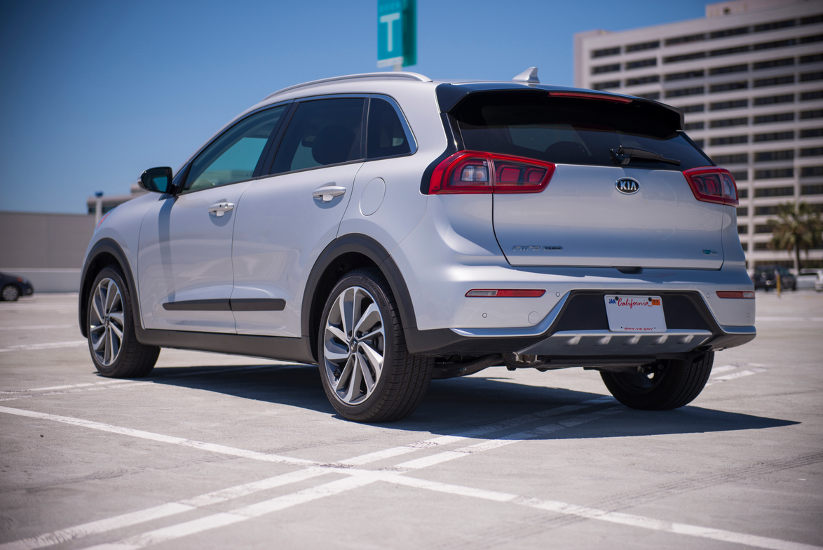 The Niro is available in five trim grades, including the FE, LX, EX, Touring, and Launch Edition.