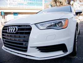 The A3 TDI has xenon plus headlights with LED daytime running lights.