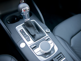 The A3 TDI pairs a 6-speed transmission with front-wheel drive.