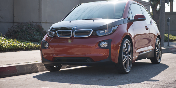 The i3 is a five-door hatchback that may appeal to fleet drivers with high-tech companies...