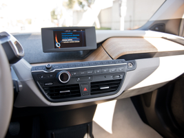 The BMW Business Navigation system displays a variety of info on a 6.5-inch high-resolution...