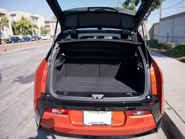 The rear compartment provides 36.9 cubic feet of cargo space, enough for a regular-size piece of...