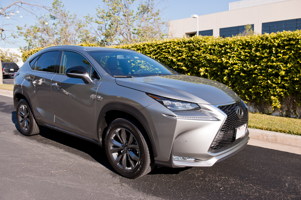 The Lexus NX measures 182.3 inches in length. The Audi Q5 measures 182.6 inches.