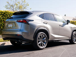 The all-wheel-drive NX delivers dynamic torque control with a 6-speed transmission.