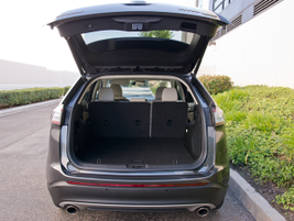 Ford has increased cargo space behind the second row to 39.2 cubic feet.