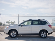 The Forester measures 181 inches in length with a 104-inch wheelbase.