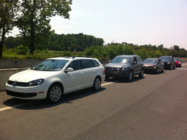 "Attendees had the opportunity to ""squeal the tires"" of VW's latest product offerings at Summit..."