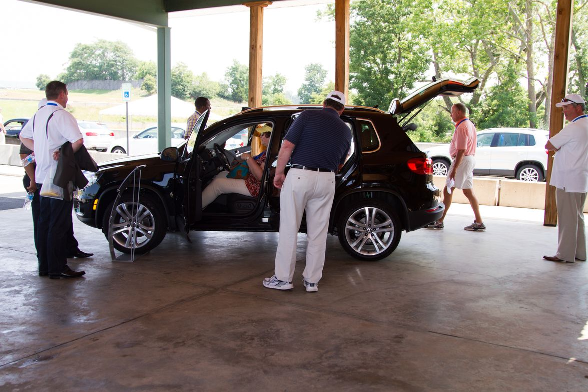 Attendees included commercial fleet managers, who got an up-close look at the vehicles during...