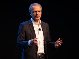 Volker Mornhinweg, head of Mercedes-Benz Vans, spoke about the 2018 Sprinter.
