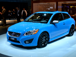 Volvo showed its S60 Polestar concept at the LA Auto Show.