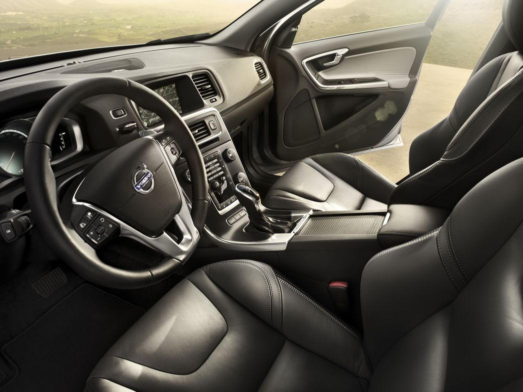 Volvo said the 2014 S60 (pictured) will offer more interior choices than the previous...