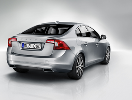 An integrated spoiler is a new feature on the Volvo S60. Photo courtesy Volvo Cars North America.