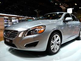 Volvo also brought its S60 to the show.