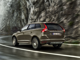 Cornering Lights on the XC60 (pictured) and the S60 adjust the front headlights' positions to...