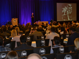 Basketball legend Bill Walton delivered the opening keynote address at CAR to a packed house....