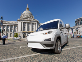 In a pilot program in the San Francisco Bay Area, four N-GEN vans will be used for last-mile...
