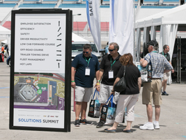 Attendees were able to visit the Las Vegas Motor Speedway, where they had hands-on...