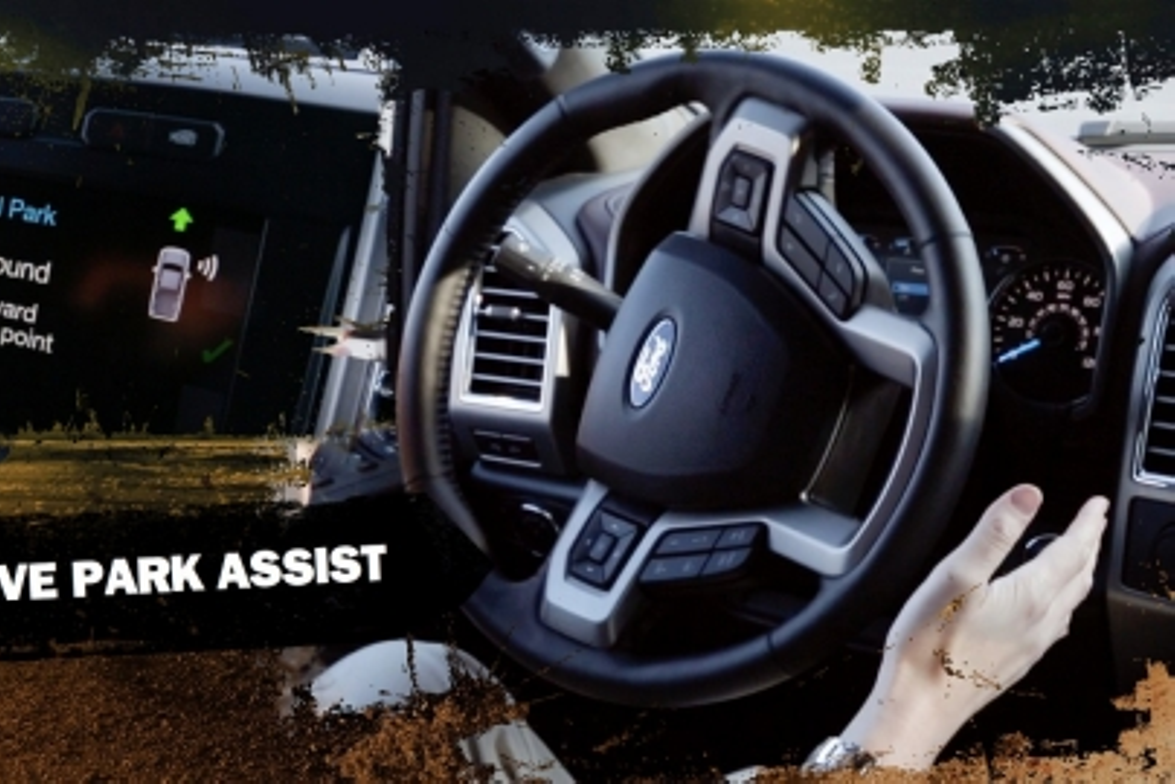 Class-exclusive active park assist Two sensors and electric power-assisted steering helps...