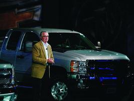 Brian Small, general manager for GM Fleet & Commercial Operations, presented an outlook and...