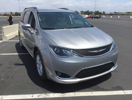 The Pacifica is arriving at dealers and will retail for at least $29,590.