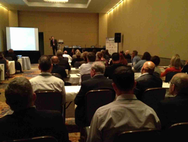 The educational sessions at the 2012 Fleet Safety Conference were packed.