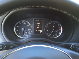 The Metris includes a standard Attention Assist feature that displays a coffee cup when the...