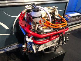Here's the electric motor for the eSprinter, which could be offered in the U.S. market if...