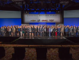 The entire General Motors Fleet team.