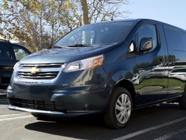 The City Express is a two-passenger small cargo van aimed at small business owners. It is...