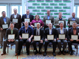 The sustainability all-stars in attendance. Read more about the award winners here.