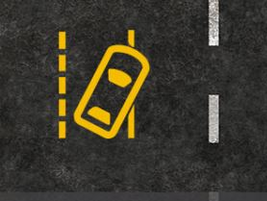 The lane departure warning lets drivers know when they begin to drift unintentionally or without...