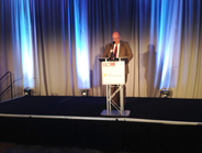 Mike Antich, editor of Automotive Fleet, welcomed attendees tothe event on July 14.