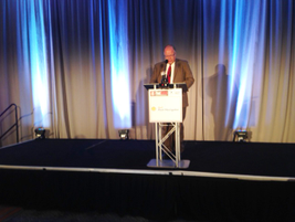 Mike Antich, editor of Automotive Fleet, welcomed attendees to the event on July 14.