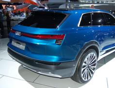 Audi's e-tron quattro concept SUV